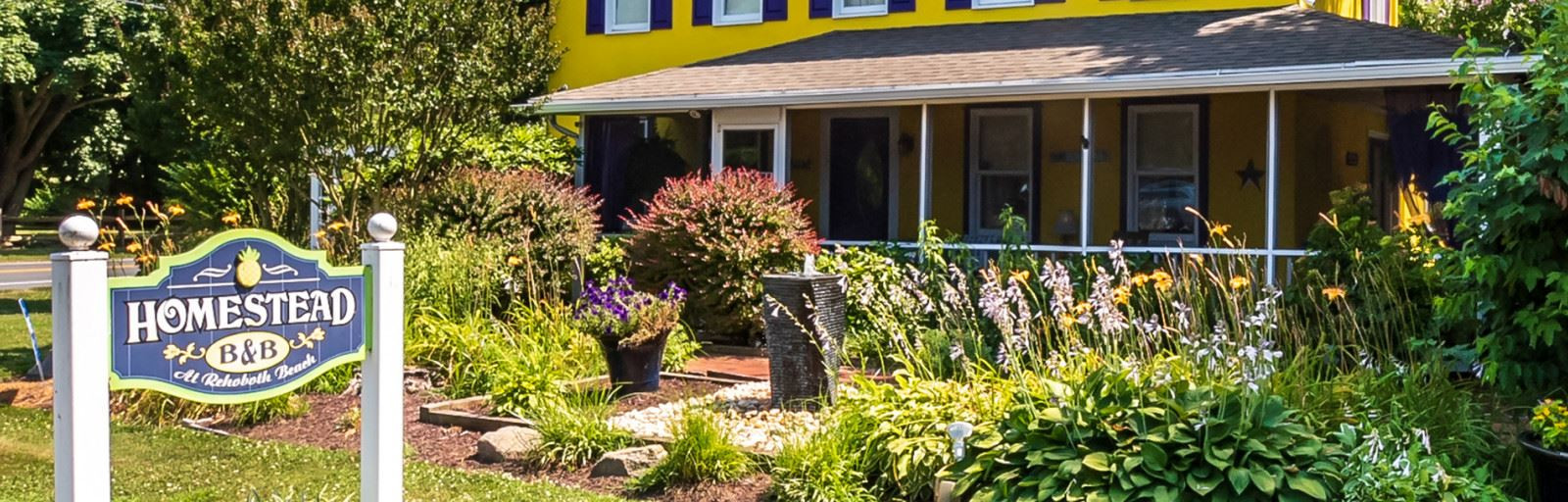Home » Homestead Bed and Breakfast at Rehoboth Beach